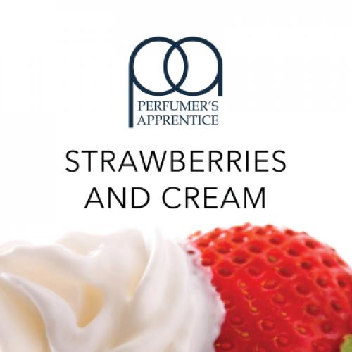 Strawberries and Cream - Клубника со сливками