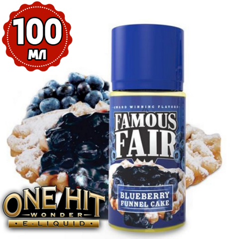 "Famous Fair ""Blueberry Funnel Cake"" 100 мл"